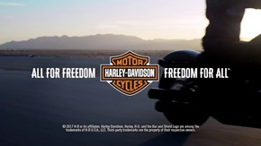 harley davidson all for freedom