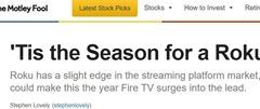 Tis season Roku via Mededitor