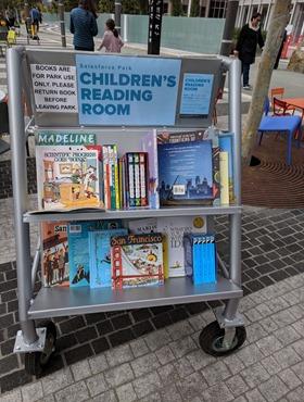 children's book cart