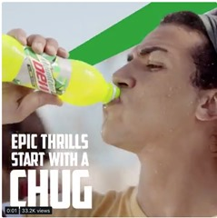Mountain Dew chug
