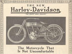 Harley slogan 1912
