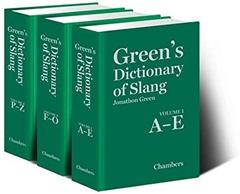 greens dict of slang