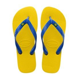 Havaianas Brazil blue yellow