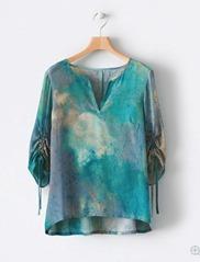 Poetry silk blouse