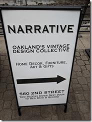 Narrative Oakland