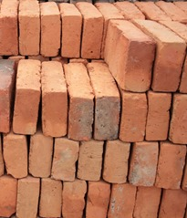 adobe brick via Clovis Stone