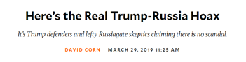 MoJo real Russia hoax