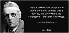 Mere anarchy yeats
