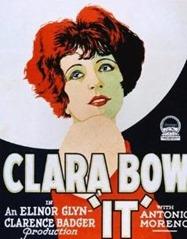 Clara Bow It poster 1927