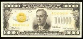 boggs 100000 bill