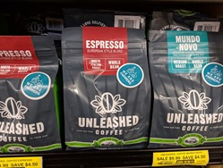 Unleashed coffee