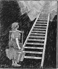 ladder toward suffrage equality