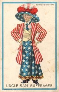 Uncle Sam Suffragee 1909