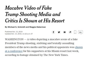 Macabre video NYTimes