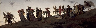 Dance of Death Tissot 1860