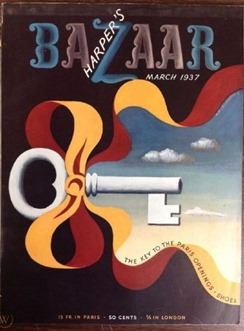 Harper's Bazaar March 1937 cover