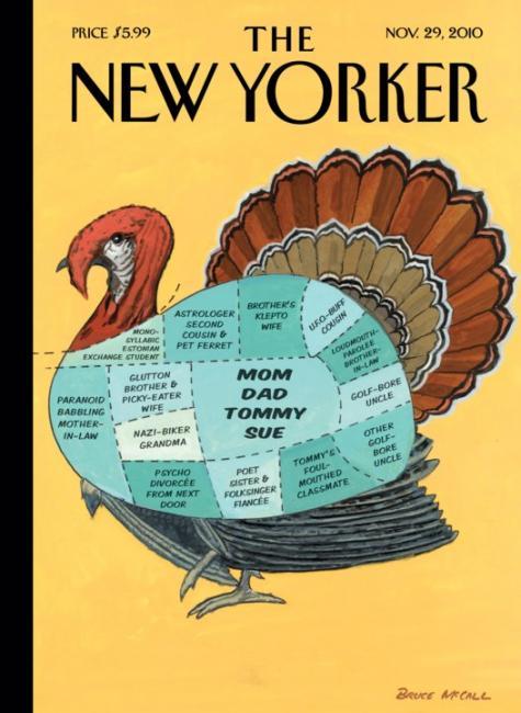 Thanksgiving turkey new yorker tommy sue