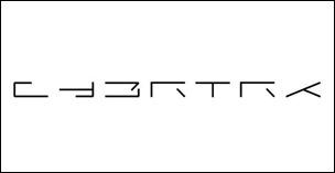 CYBRTRK weird logo