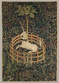 Unicorn captivity Met Museum
