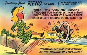 reno divorce postcard bitch media