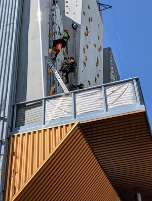 whitney peak climbing wall