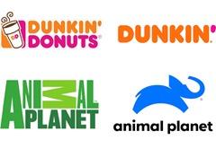 Dunkin logos