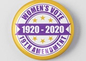 suffrage centennial pin etsy