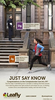Leafly NYT ad August 2014