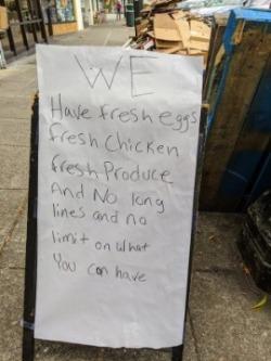 Oakland Kosher Foods sign no limit