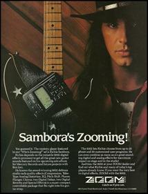 Zoom guitar processor 1991