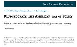kludgeocracy teles new america foundation