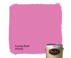fuchsia blush dunn edwards