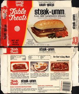 table treats steak umm