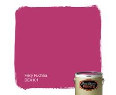 fiery fuchsia dunn edwards