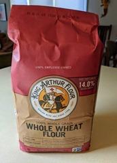 King Arthur whole wheat