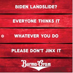 Burmagram Biden landslide