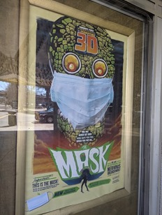COVID The Mask poster Grand Lake