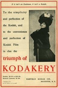 Kodakery 1901 ad