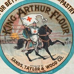 king arthur flour vintage flour sack via pinterest