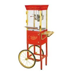 popcorn cart by Nostalgia