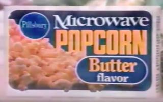 Pillsbury microwave popcorn