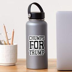 chumps for trump sticker redbubble