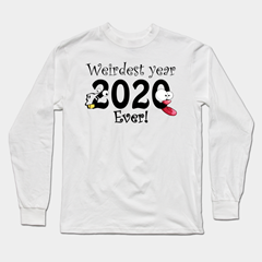 weirdest year ever teepublic