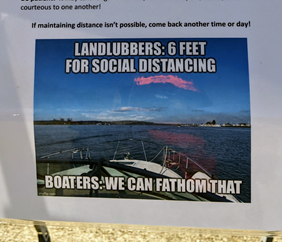 landlubbers social distancing