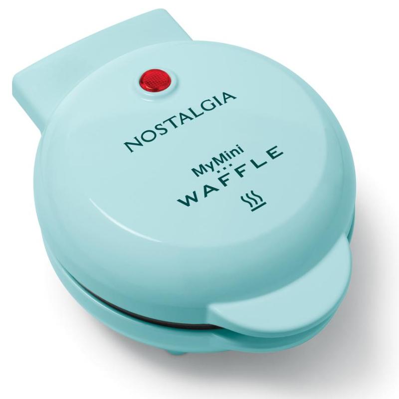 Nostalgia products mini waffle maker