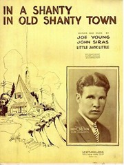 shanty in old shanty town sheet music