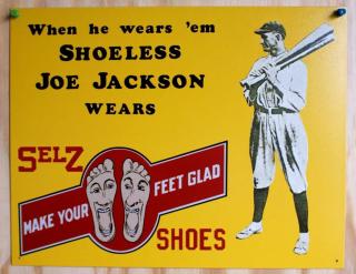 Shoeless joe jackson selz shoes