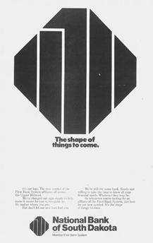 national bank south dakota logo ad