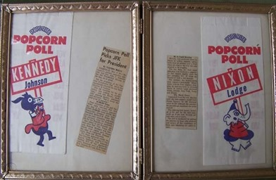 popcorn poll framed 1960 worthpoint