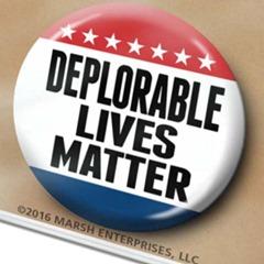 deplorable lives matter button etsy